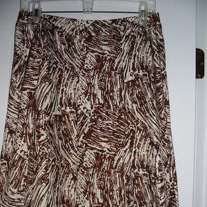 Merona A-Line Skirt  Size 6